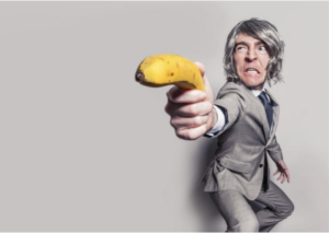 Stock Image Man With Banana