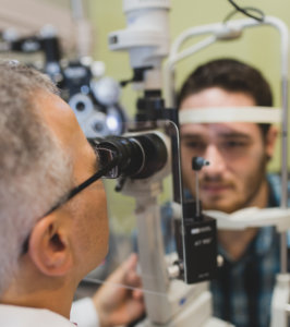 Holly Springs Eye Associates - Dr. Vito eye exam cropped
