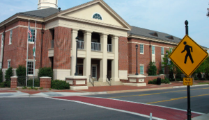Holly Springs Eye Associates - Building Location