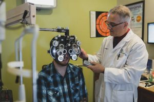 Holly Springs Eye Associates - Dr. Vito eye exam
